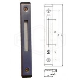 ROMB zaczep zamka dodatkowego, C 6 x 24mm, st.nierdz.