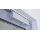 WALA Klamko-klamka do drzwi, krótki szyld, brązowy RAL8019