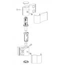 JIS 1411RF Elektrozaczep rewersyjny (radialny) 12V DC