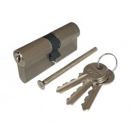 Wkładka bębenkowa 30/30 WILKA W5 nikiel, 3 klucze