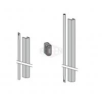 Pręty z osłonami DORMA PHX 05 (drzwi o wysokości max 3400mm)