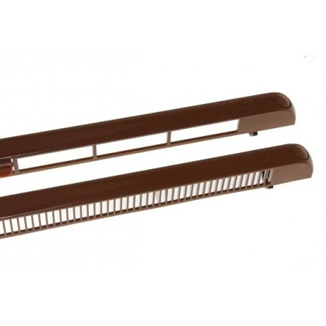 F VENT 1250F Nawiewnik okienny, jasno brązowy - krótki