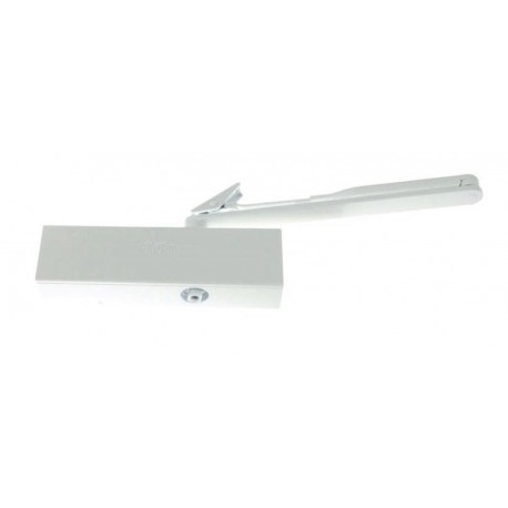 DORMA GROOM 200 Samozamykacz + ramię standard, biały