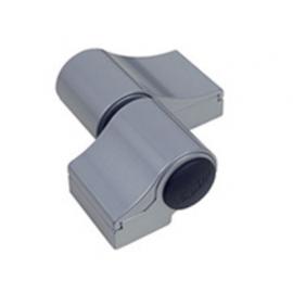 Zawias dwuskrzydłowy LOIRA PLUS 7010VI, R-67 mm, srebrny
