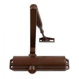 ASSA ABLOY DC120 Samozamykacz + ramię standard EN 2-4, brązowy