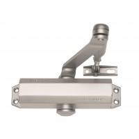 Samozamykacz z ramieniem ASSA ABLOY DC110 do drzwi 1100 mm, srebrny