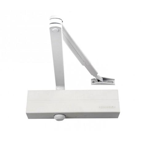 ASSA ABLOY DC140 Samozamykacz + ramię z blokadą EN 2-5, biały