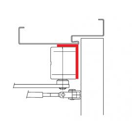 ASSA ABLOY A123 Wspornik kątowy do samozamykacza DC300