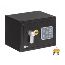 Sejf podstawowy domowy mini mały YALE YSV/170/DB1