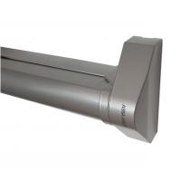 Dźwignia antypaniczna PED700 do szer. 1400mm, pod zamek wpuszczany, srebrny