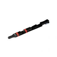 FAPIM 3828 Rygiel wsuwany do rowka 15x20 mm, czarny