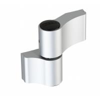 WALA Zawias WX 2 skrzydełkowy niesymetryczny 67 mm, srebrny