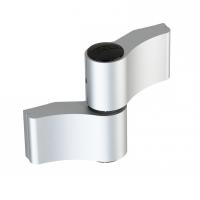 WALA Zawias WX 2 skrzydełkowy symetryczny 92 mm, srebrny