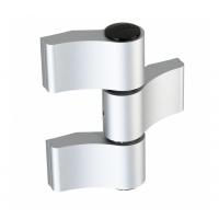 WALA Zawias WX 3 skrzydełkowy symetryczny 92 mm, srebrny