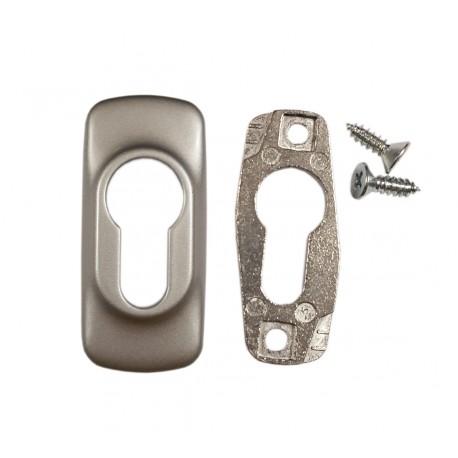 Rozetka na wkładkę FAPIM HORUS 2100B, srebrna G6